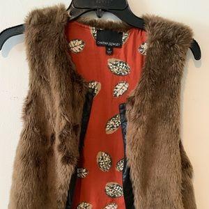 Reversible Cynthia Rowley Fur Vest